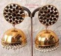 Copper Gold Black Gold Color Traditional Earring