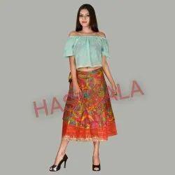c786777d60593 Wrap Around Skirts - Rapron Skirt Latest Price, Manufacturers ...