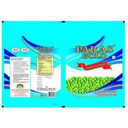 Frozen Peas Packaging Bag