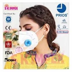 PRIOS Reusable N 95 protection mask with Respirator