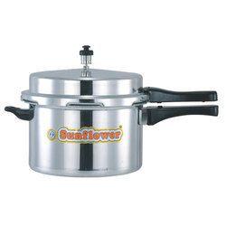 Sliver Sunflower Aluminium Pressure Cooker 3 Liter