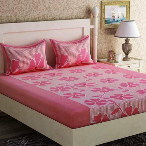 Vipl Machine Washable Floral Bed Sheets