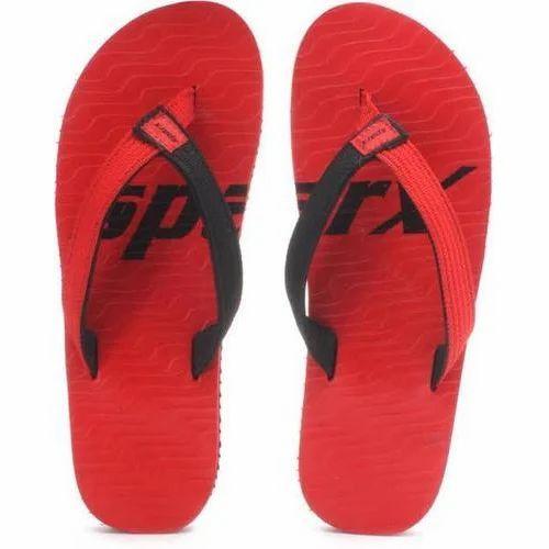 b9b9e2a66 Printed Sparx Red Men Slippers