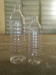 Nakoda Screw Cap Transparent Plastic Water Bottle, 500ml, Size: 500 N 1000 Ml
