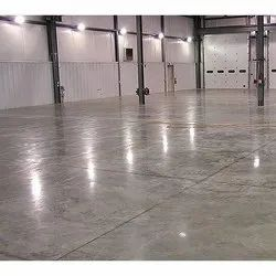 Tile/Marble/Concrete VDF And RMC Flooring Contractor, For Indoor, Anti-Skidding