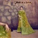 Pastel Color Jacquard Silk Saree