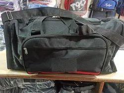 Polyester Black Travel Luggage Bag
