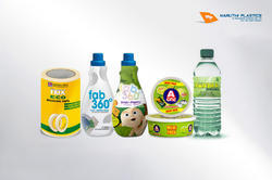 LDPE Transparent Printed Cast PVC Shrink Film, Packaging Type: Roll Form