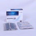 500 mg Calcium and Vitamin D3 Tablets USP