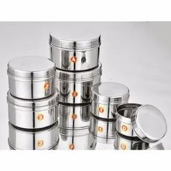Stainless Steel Mini Poori Dabba