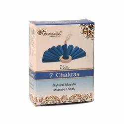 Aromatika Vedic Seven Chakra Incense Cones