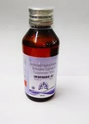 KUFHIDE A Ambroxol Terbutaline Guaiphenesin Syrup Sugar Free, Packaging Size: 100 mL
