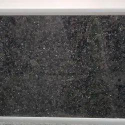 Pearl Black Granite Slab, Thickness: 15-20 mm