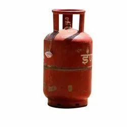 Carbon Steel Domestic Indane Gas Cylinder, 14.2 Kg, 539.366-21657.324 Kpa