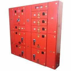 Mild Steel Three Phase Fire Electrical Control Panel