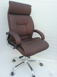 Red Fabric Executive Chair