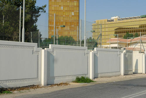 Concrete Boundary Wall Rs 82 Square Feet Tirupati