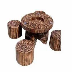 Wooden Round Log Furniture