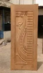 Hariom Teakwood doors, For Home, Size: 7 X 3 Square Feet