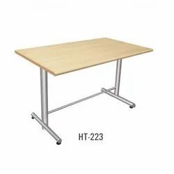 Wooden Cafeteria Table
