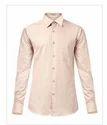 Supima Beige Slim Fit Shirt