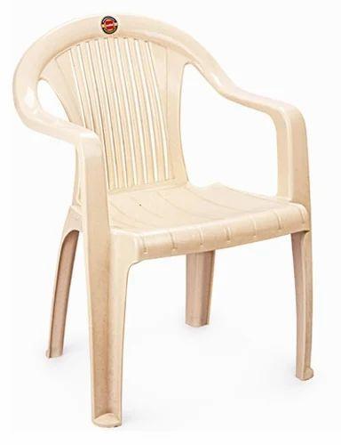 Charmant Cream, Orange Standard Cello Chair, Usage: Indoor, Outdoor
