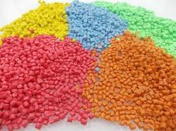 Colored Reprocessed Granules
