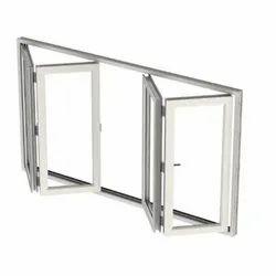 Sliding White UPVC Folding Window