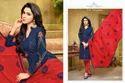 Collar Neck Havya Salwar Suit Fabric