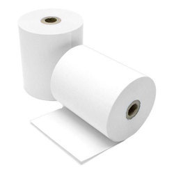 Supreme Bartech White Plain Thermal Paper Roll, GSM: 80 - 120