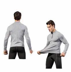 Athletic Sports Gymwear Plain Men Stretchable Gymtshirts