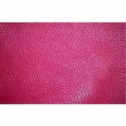 Pink Aniline Leather