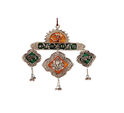 Silver Plated Wall Hanging Tauran