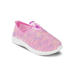 Kids Pink Slip On Shoes