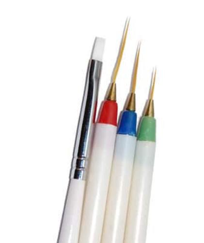 Nail Art Brush Set Salon Spa Kits Equipments World Link