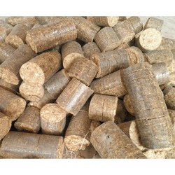 Saw Dust Wooden Briquette, For Boiler, Thickness: 90 Mm