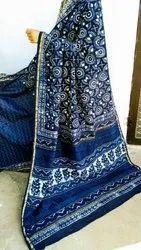 Govind Party Wear Designer Chanderi Silk Saree, 6.5 m