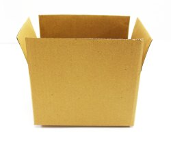 Brown Packaging Corrugated 12 x 12 x 4.5 Inch 3 Ply Box