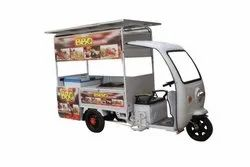 E Rickshaw Food Cart