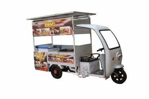 Crescent E Rickshaw Food Cart
