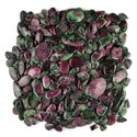 Natural Ruby Zoisite Plain Cabochon Stones in Loose Gemstones For Jewerry Making