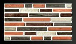Matt & Glossy Rectangular Digital Ceramic Wall Tile, Size: 10x15 Inch