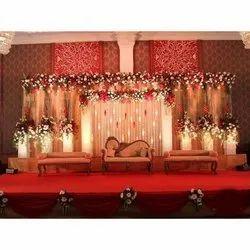 Wedding Stage Decoration Service, Pan India