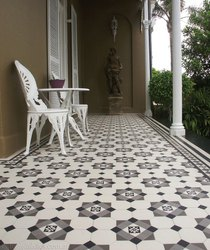 Beautiful Handprinted Ceramic Tiles