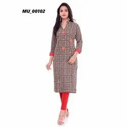Collar Ladies Kurti