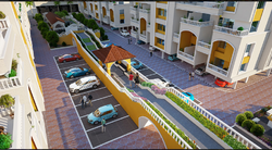 2 BHK Residential Flats Design Service