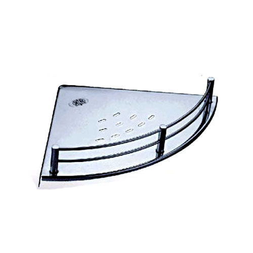stainless steel corner shelf at rs 200 piece ss corner shelf id rh indiamart com stainless steel corner shelves bathroom stainless steel corner shelf for bathroom