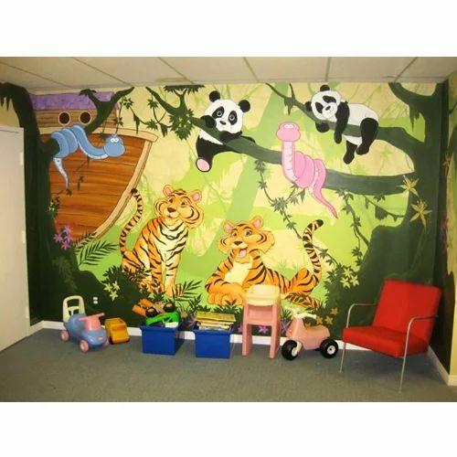 Wall Paintings Service Art Nursery Schools