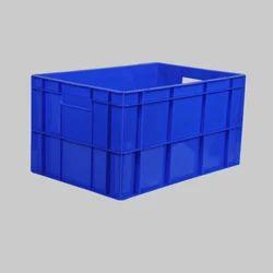 65 Litre Plastic Blue Crate