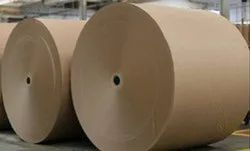 Wood Pulp Brown Craft Paper, Packaging Type: Roll, 30-500 Gsm